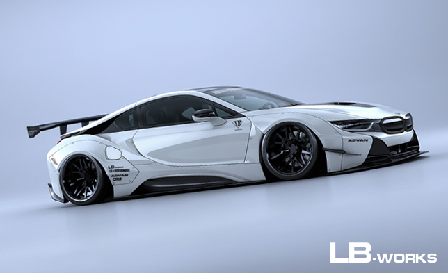 LB-WORKS × Y'z one BMW i8