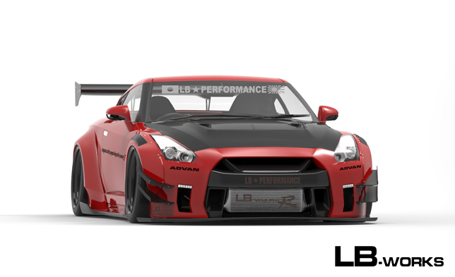 LB★WORKS NISSAN R35 GT-R type 2