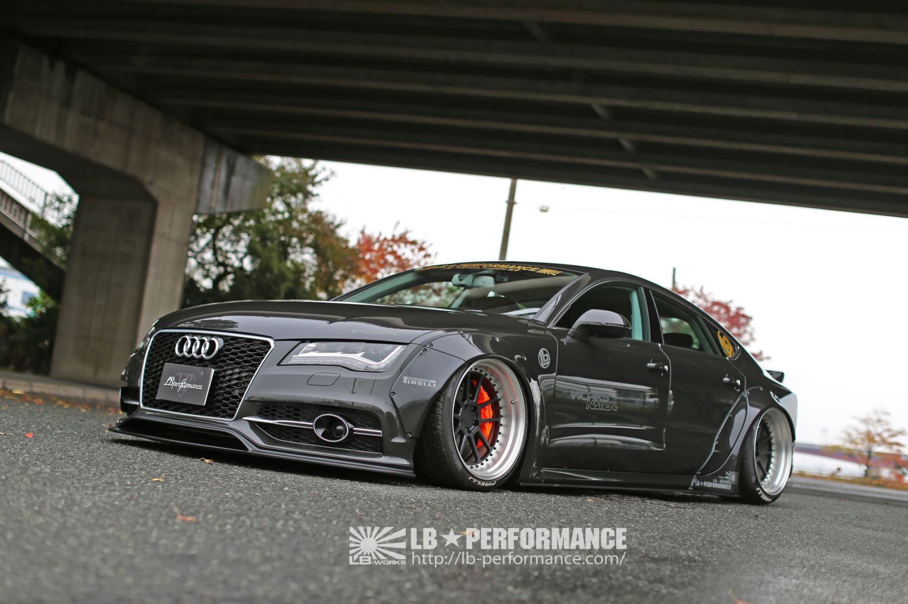 Lb Works Audi A7 S7 Liberty Walk リバティーウォーク