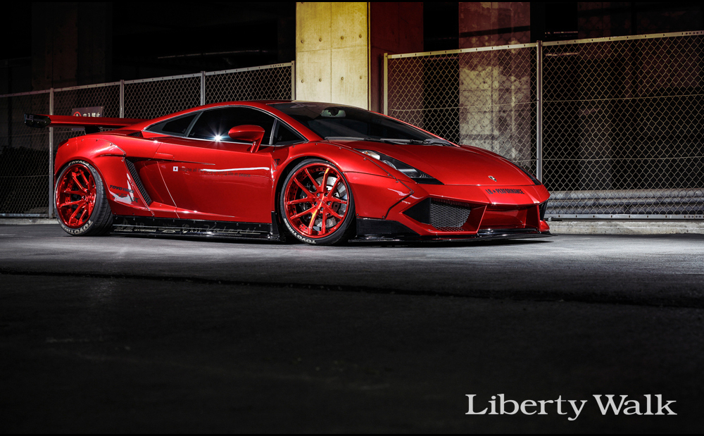 GALLA10-1 LB★WORKS Lamborghini GALLARDO