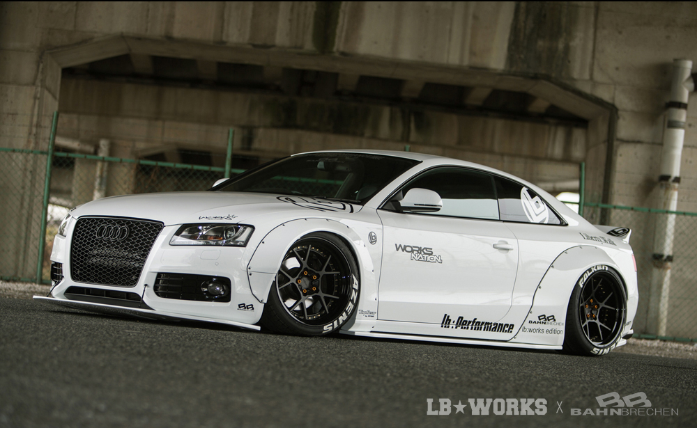 A501-1 LB★WORKS AUDI A5 / S5 with BAHN BRECHEN