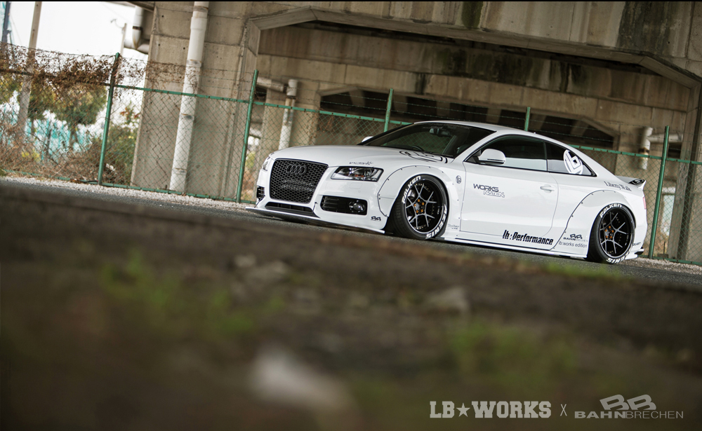 A509-1 LB★WORKS AUDI A5 / S5 with BAHN BRECHEN