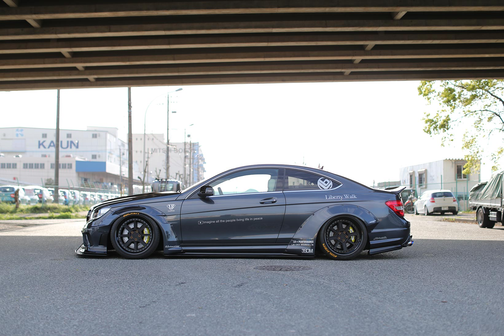 IMG_2240 LB-WORKS MERCEDES-BENZ C63 coupe & sedan  W204