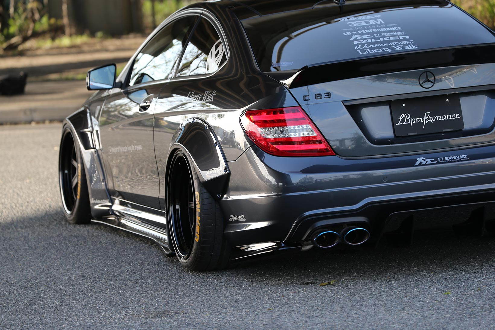 IMG_2303 LB-WORKS MERCEDES-BENZ C63 coupe & sedan  W204
