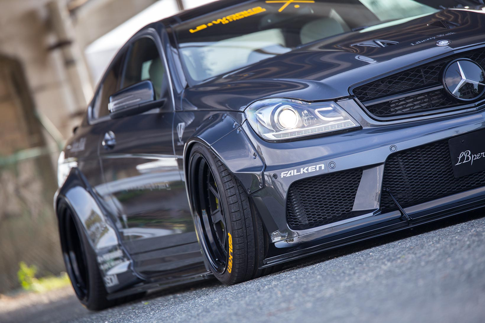 lb works mercedes benz c63 coupe sedan w204 liberty