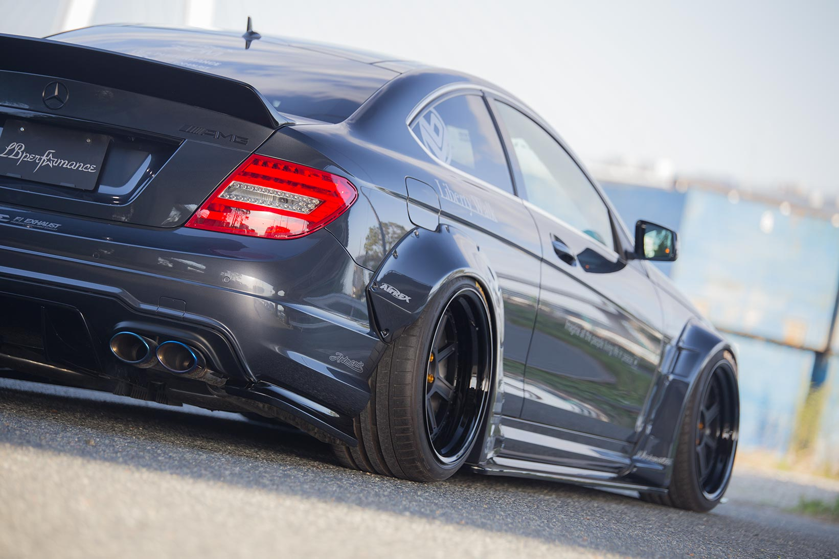 IMG_2678 LB-WORKS MERCEDES-BENZ C63 coupe & sedan  W204