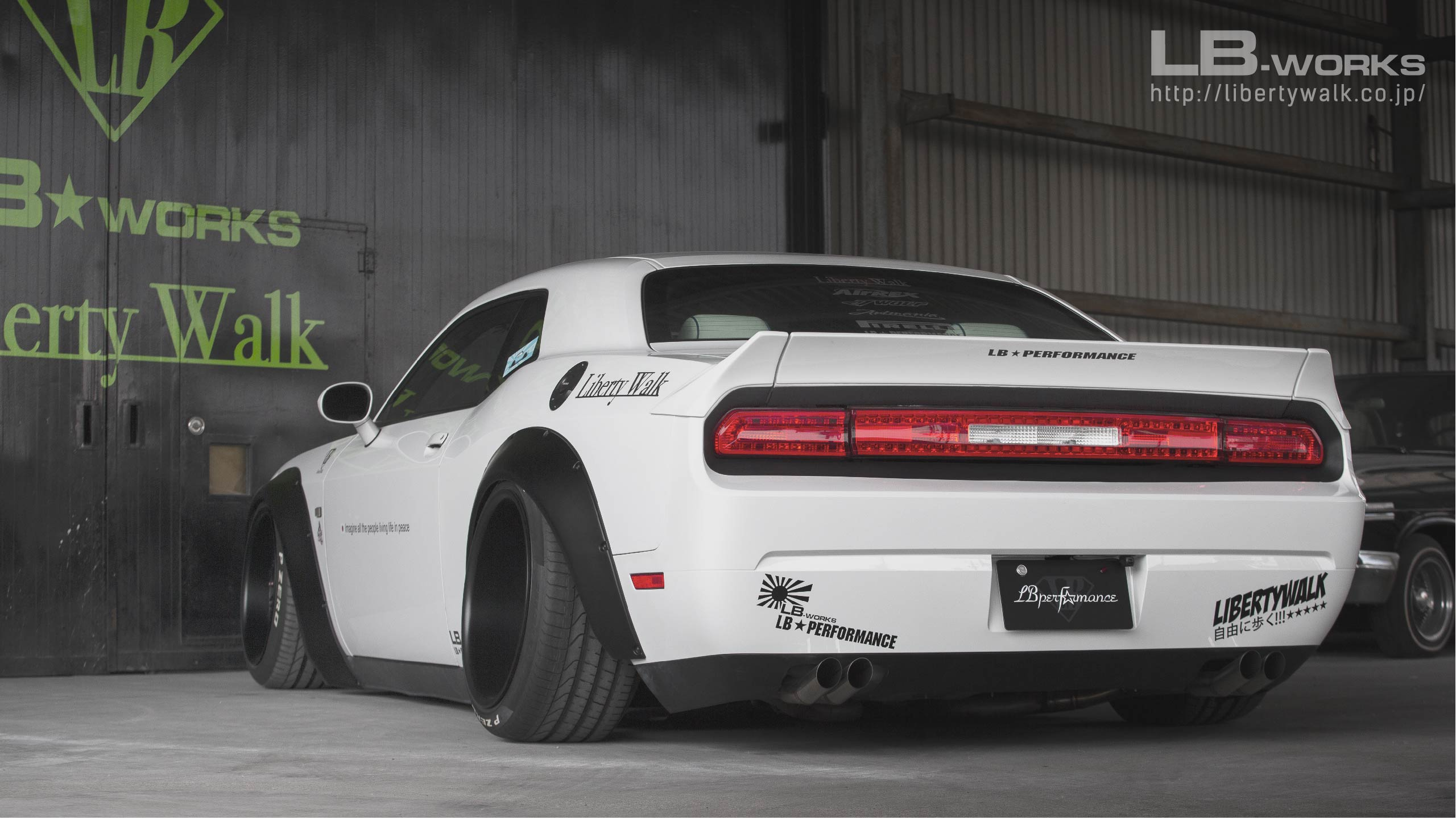 170 LB★WORKS DODGE Challenger