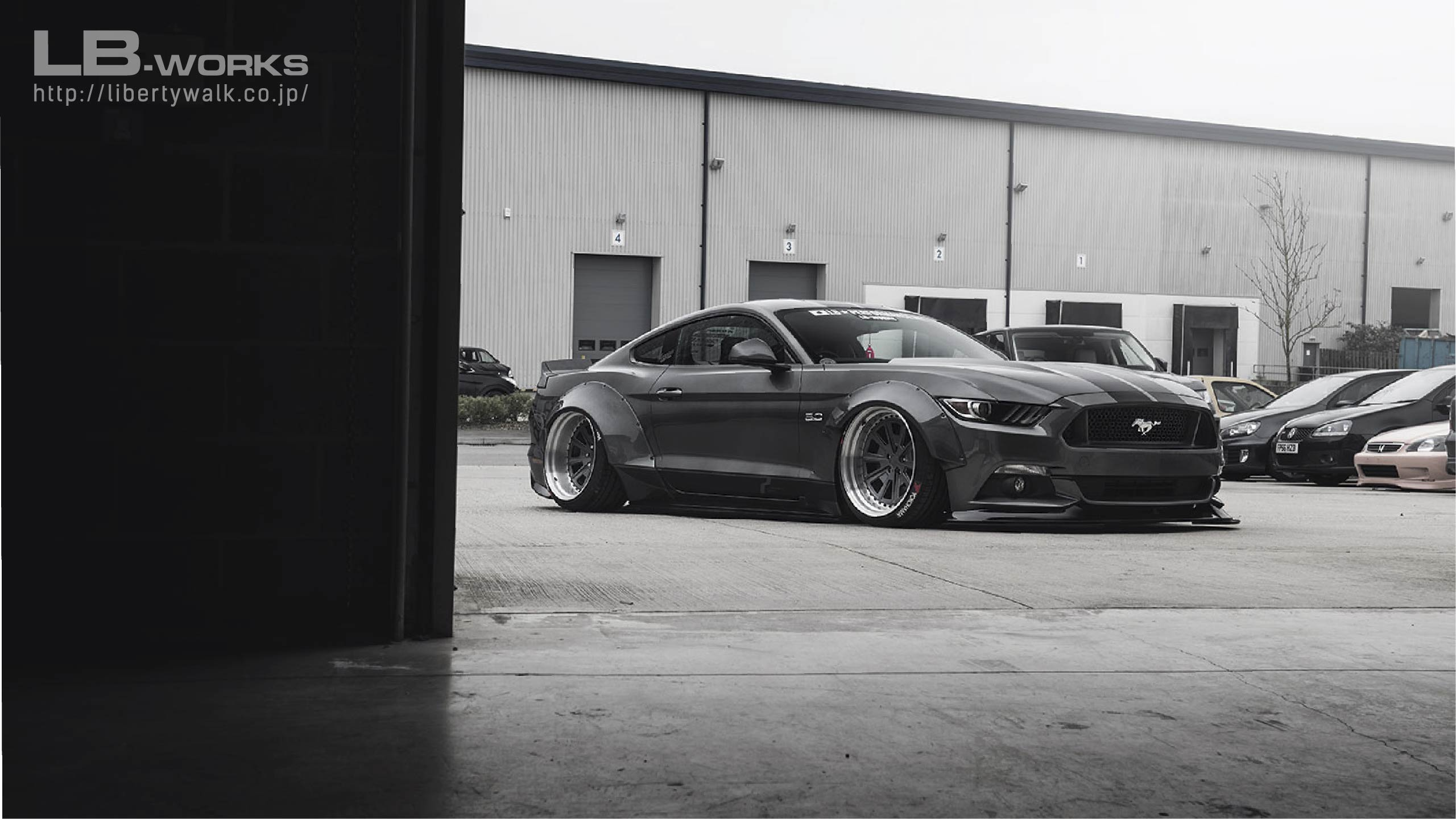 FORDMUSTANG140 LB-WORKS FORD MUSTANG 2015y〜