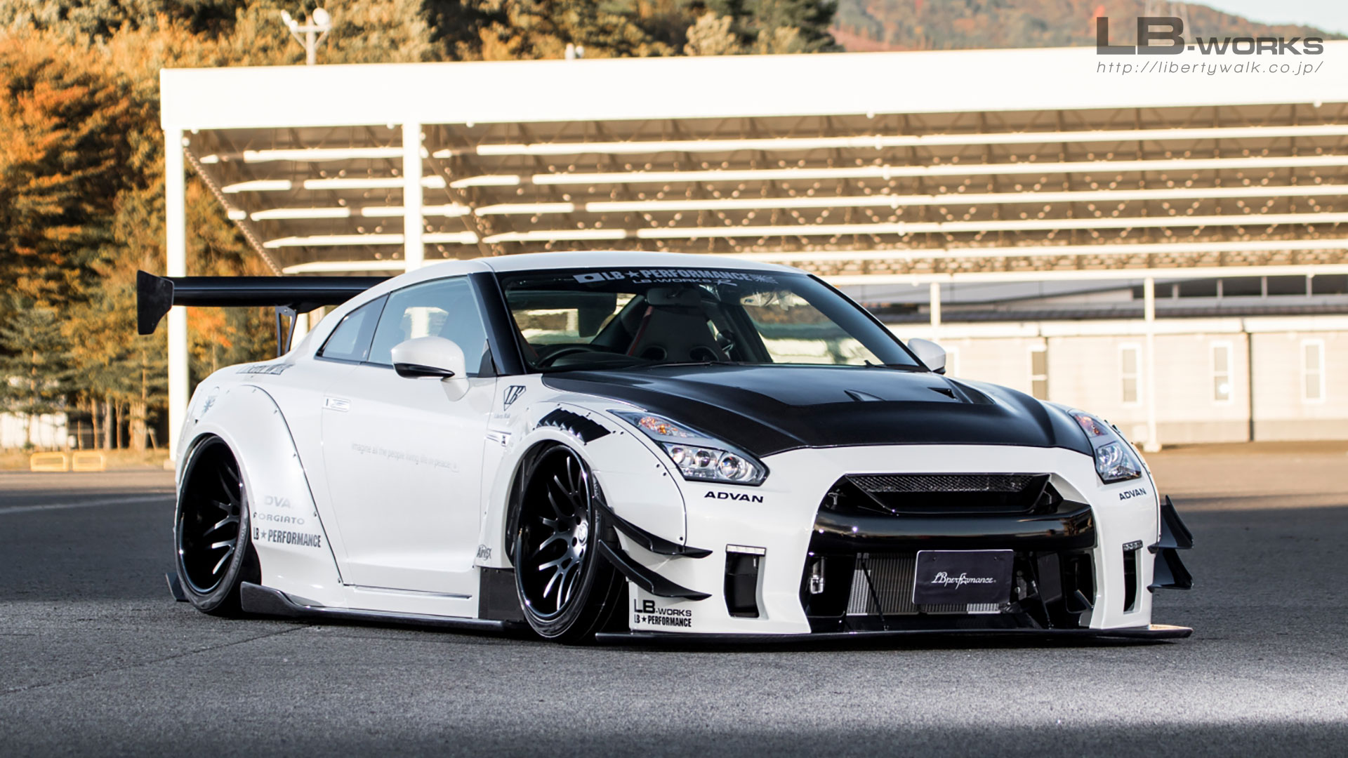 lb works nissan gt r r35 type 2 liberty walk. Black Bedroom Furniture Sets. Home Design Ideas