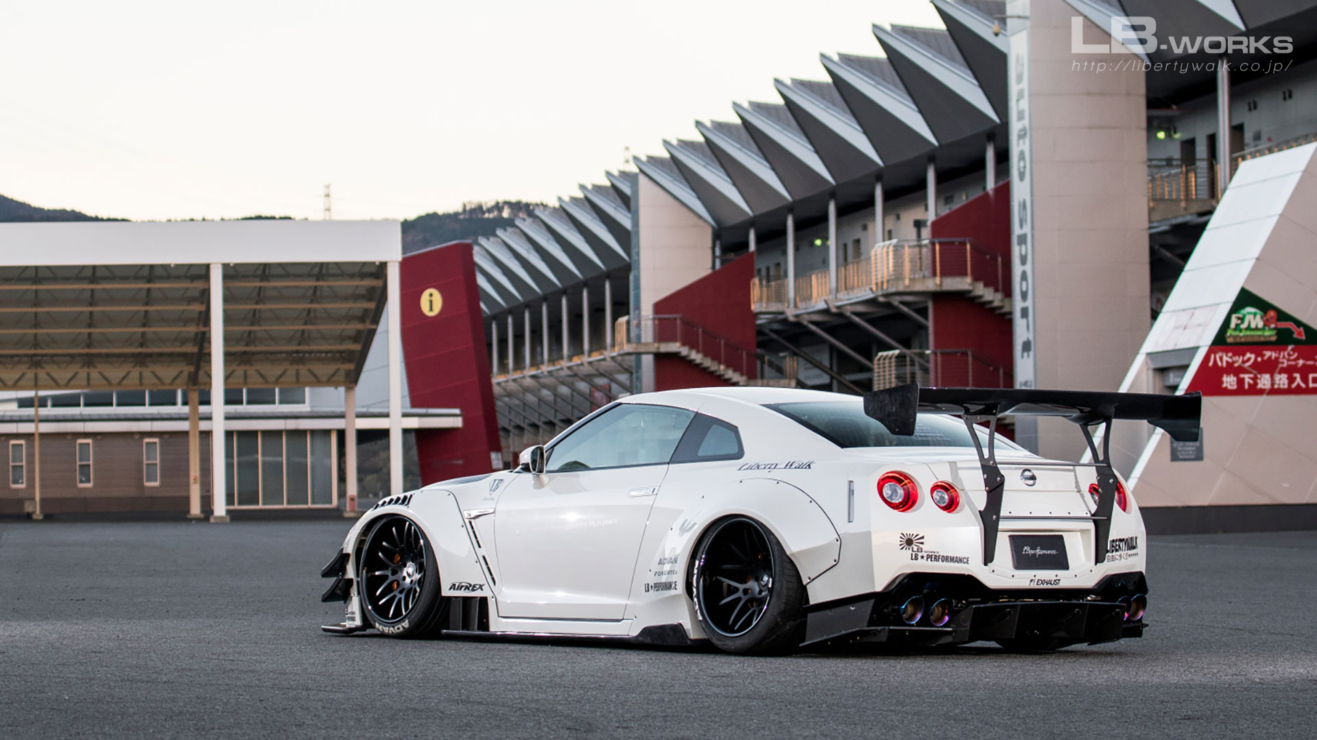__ARY5471 LB-WORKS NISSAN GT-R R35 type 2
