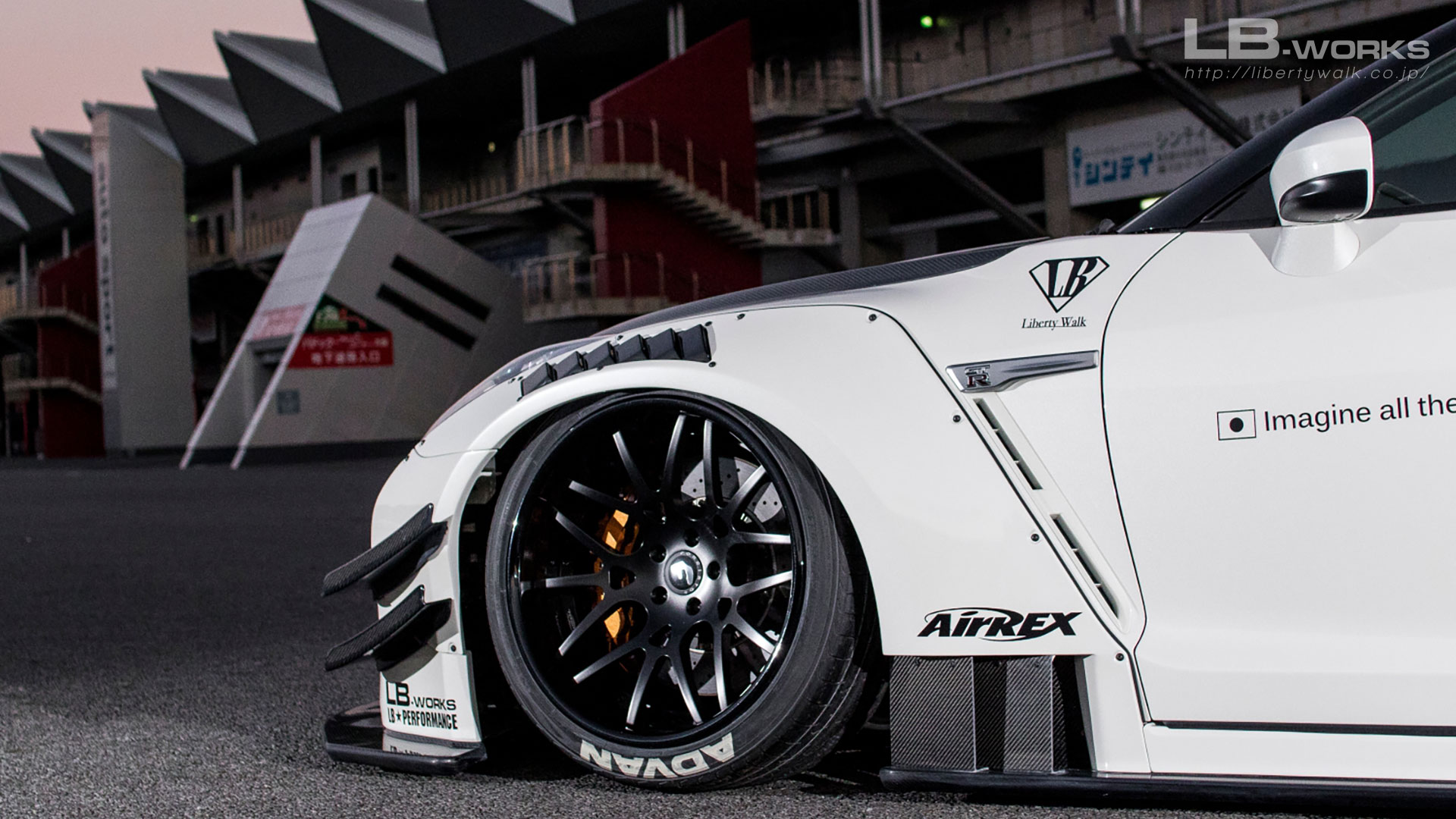 __ARY5516-2 LB-WORKS NISSAN GT-R R35 type 2