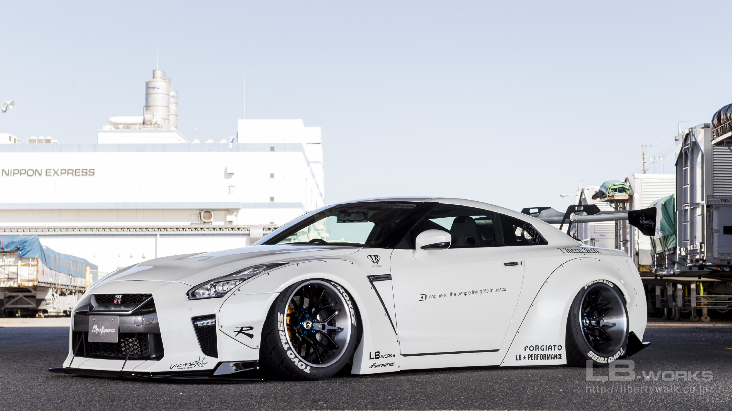 112-80 LB-WORKS NISSAN GT-R R35 type 1.5