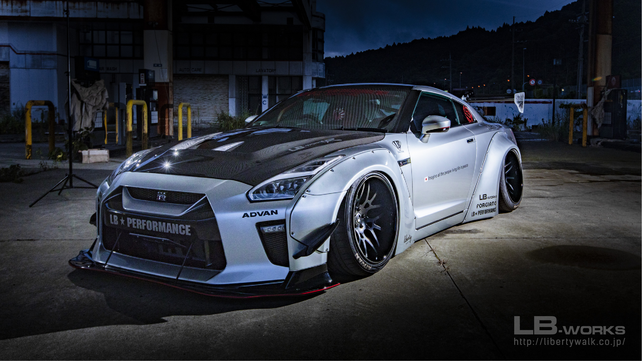 14-80 LB-WORKS NISSAN GT-R R35 type 1.5