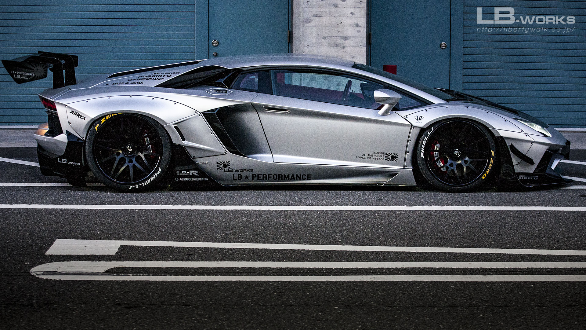 169 LB-WORKS Lamborghini AVENTADOR Limited Edition