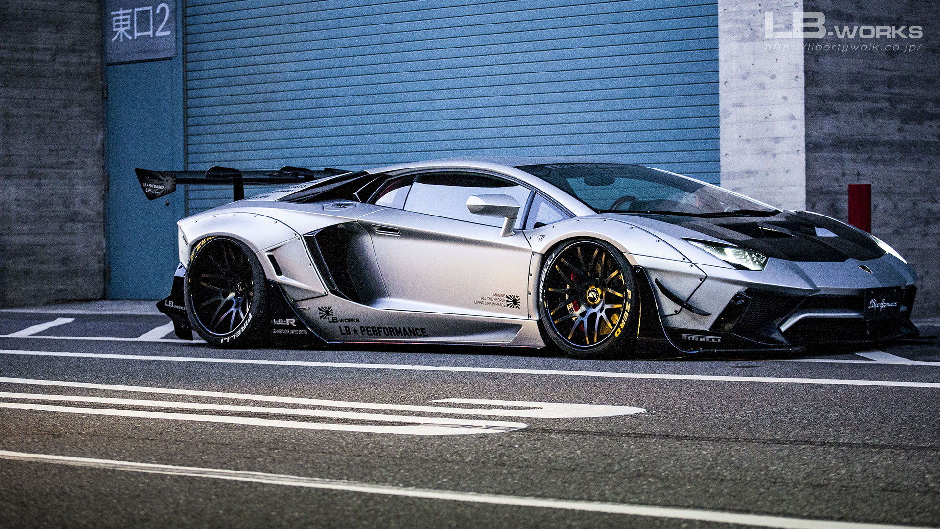 179 LB-WORKS Lamborghini AVENTADOR Limited Edition