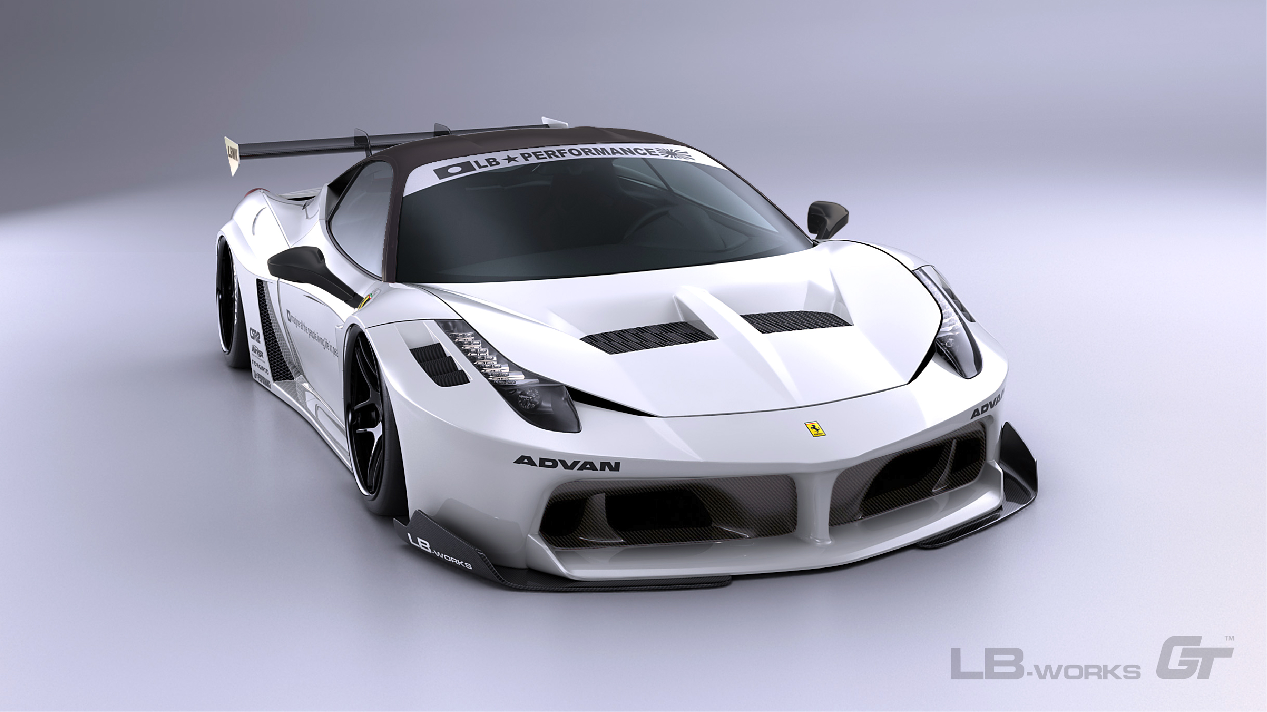 16-100 LB-Silhouette WORKS 458 GT