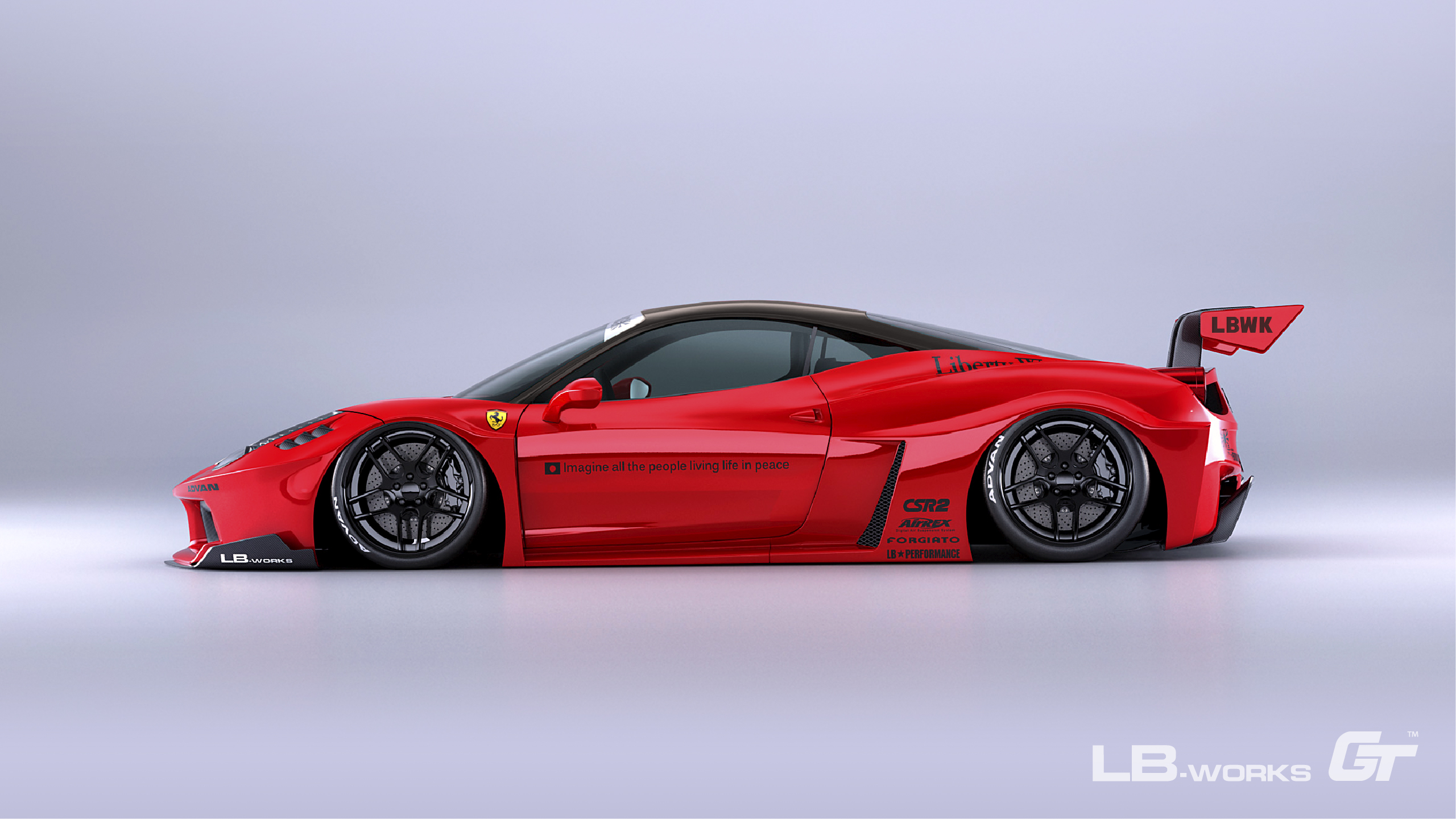 18-100 LB-Silhouette WORKS 458 GT
