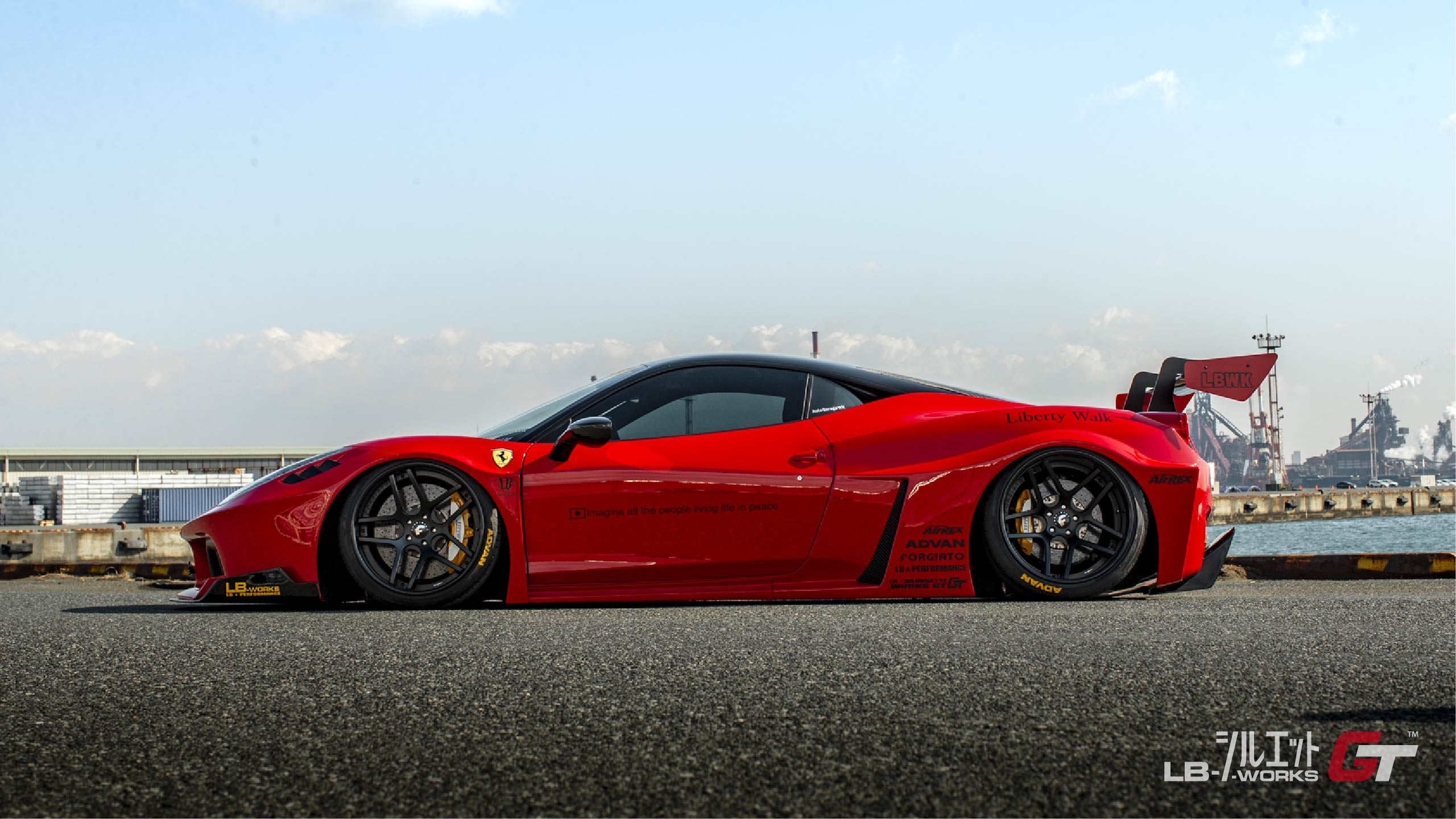 Lb Silhouette Works 458 Gt Liberty Walk リバティーウォーク