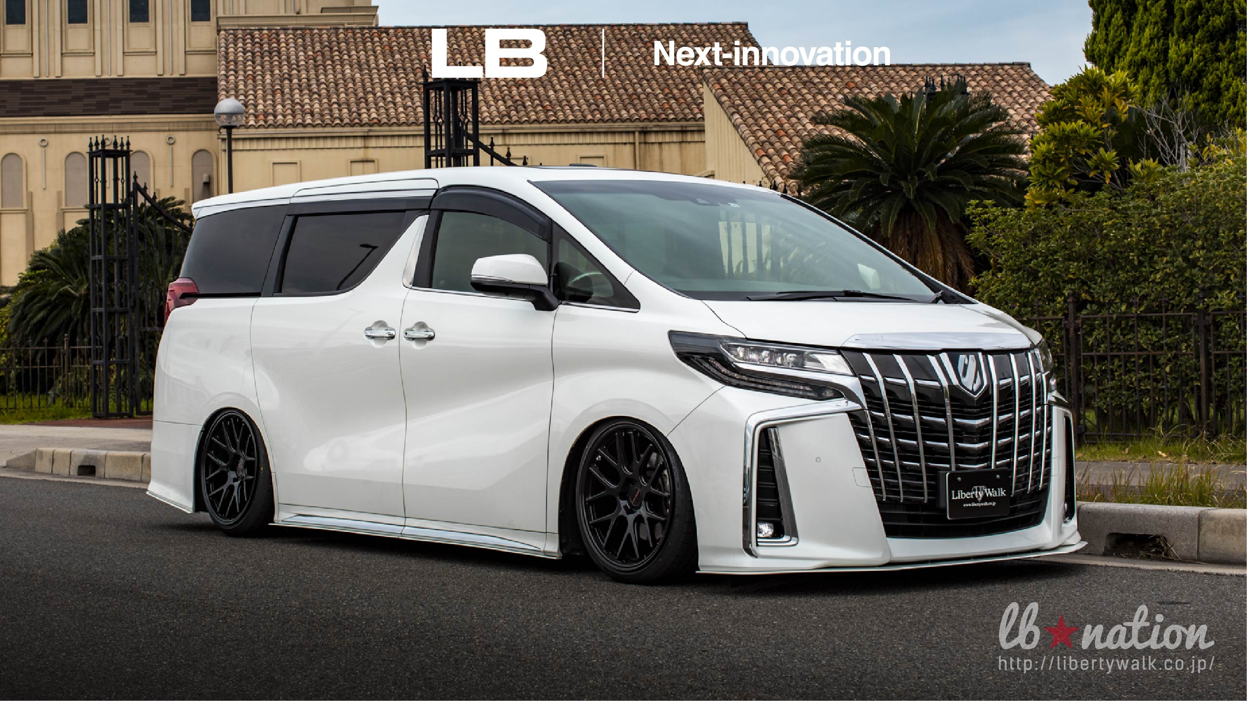 13-50 lb★nation × Next innovation TOYOTA 30ALPHARD