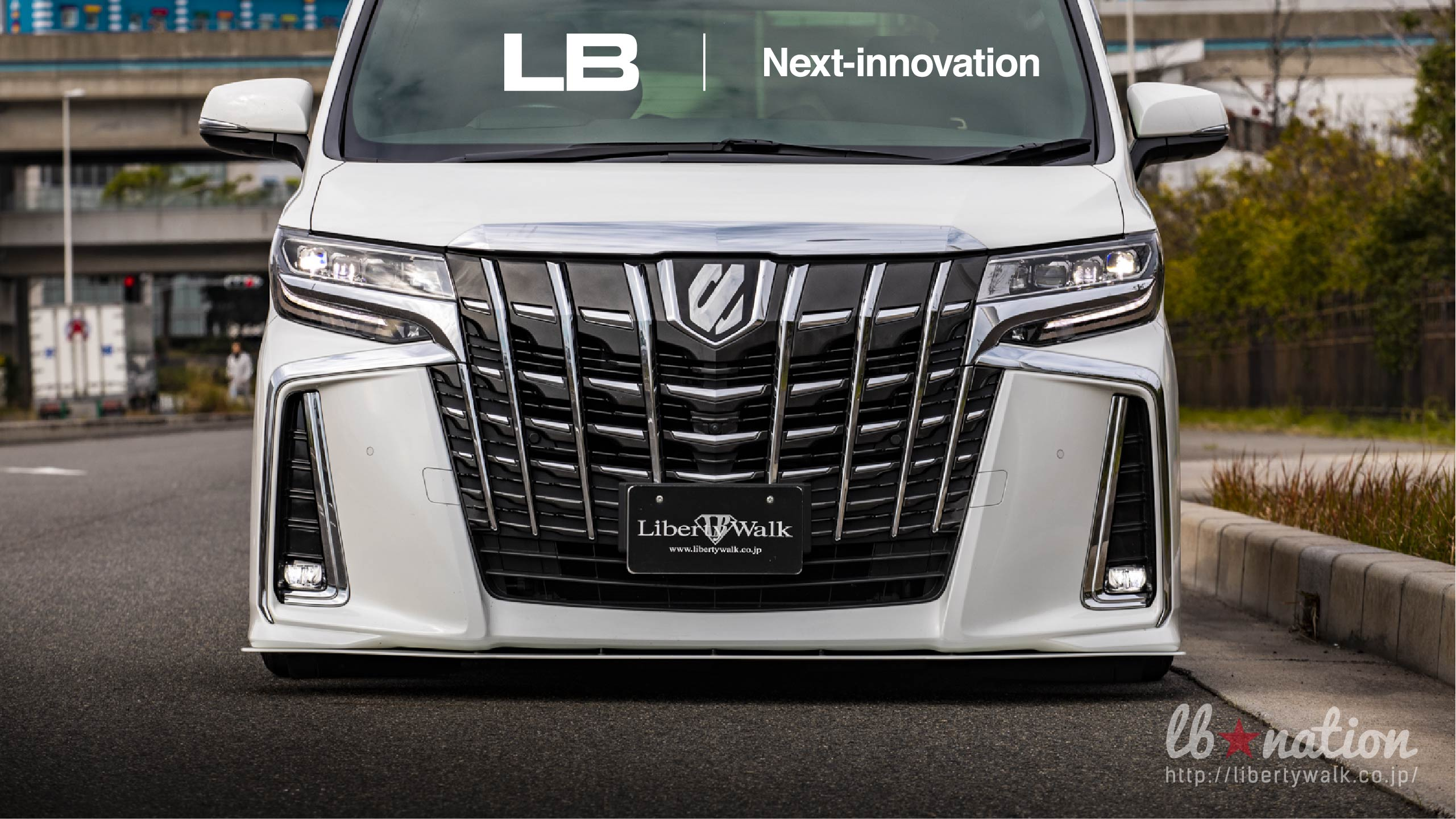 14-50 lb★nation × Next innovation TOYOTA 30ALPHARD