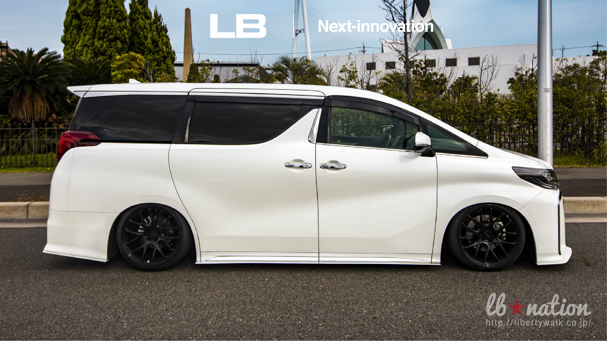 17-50 lb★nation × Next innovation TOYOTA 30ALPHARD