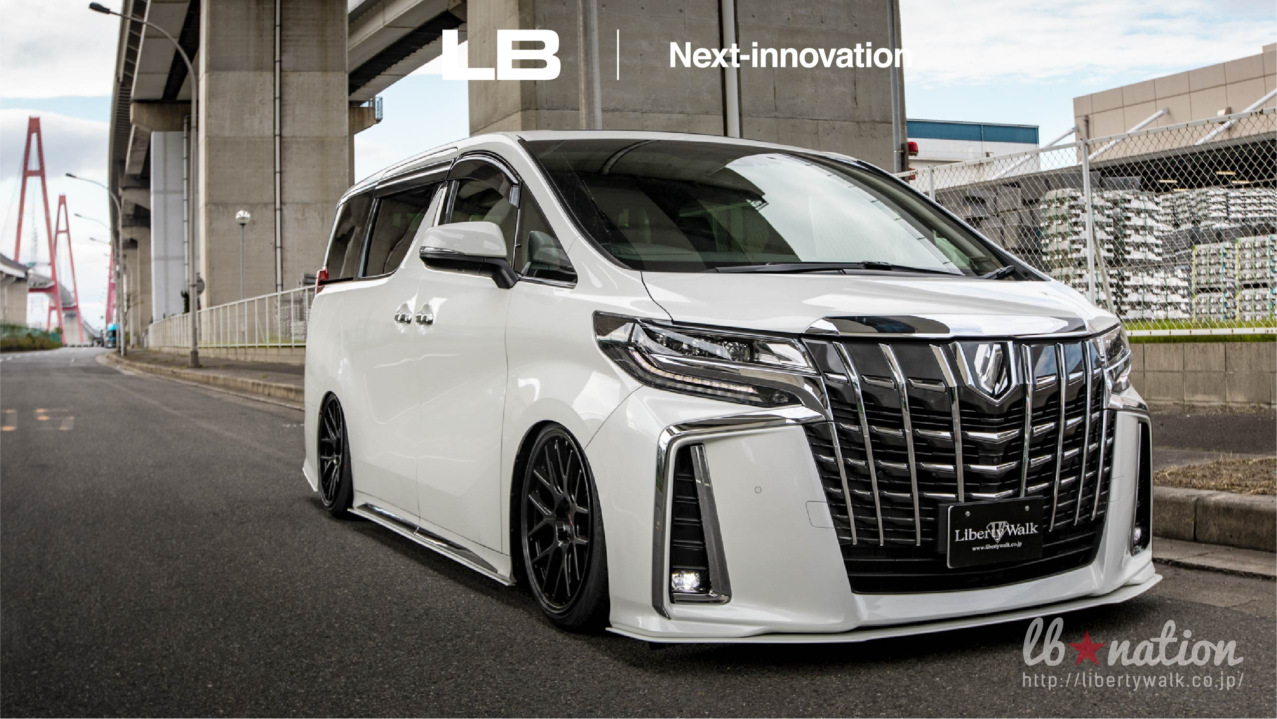 19-50 lb★nation × Next innovation TOYOTA 30ALPHARD