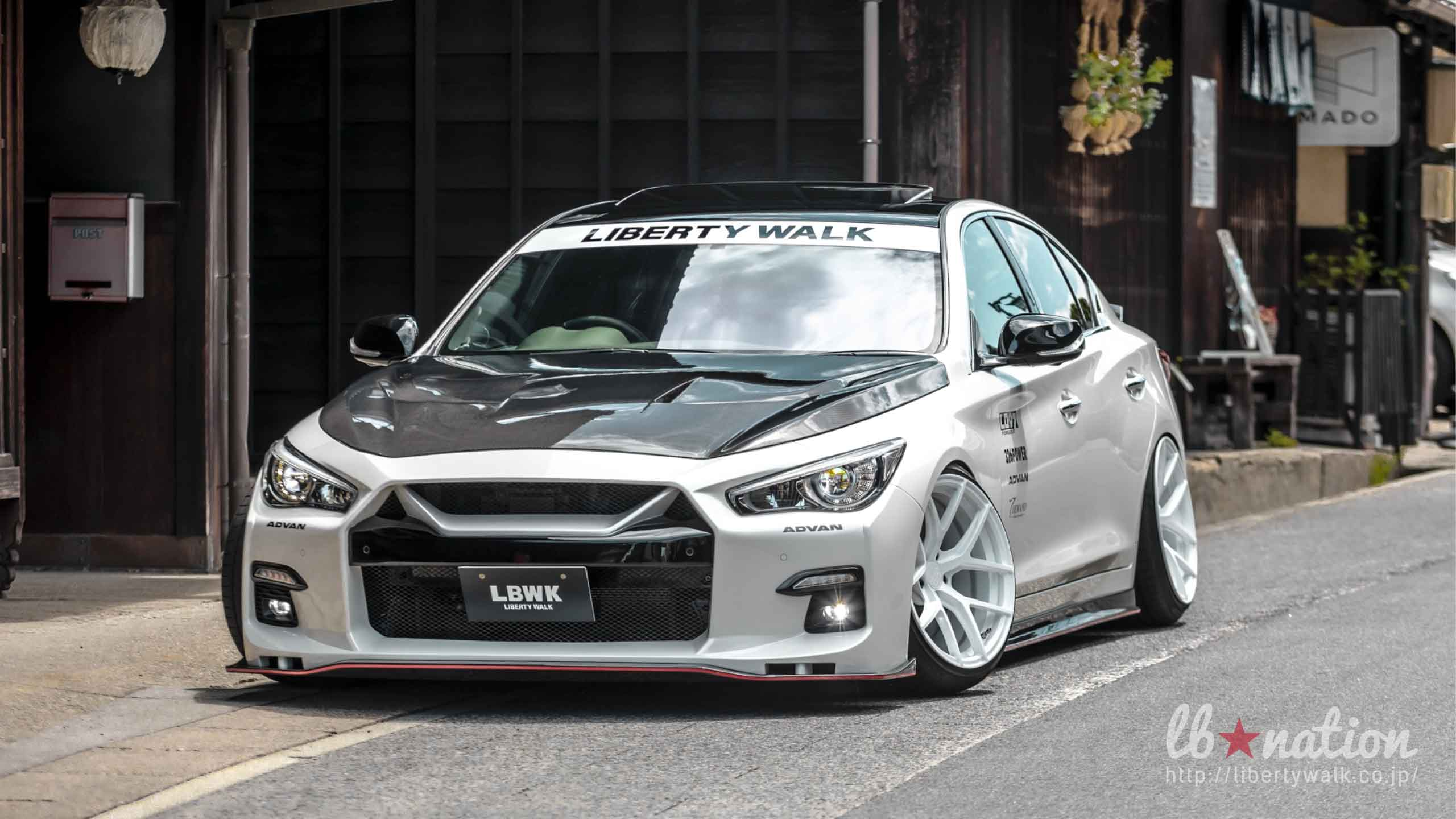 V37_5 lb★nation  NISSAN V37 SKYLINE / INFINITI Q50