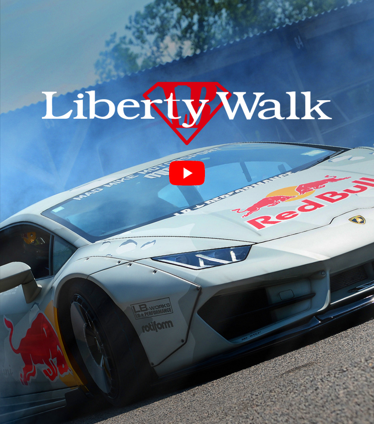 Liberty Walk | リバティーウォーク Complete car and customize!